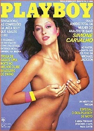 Abril de 1984 - Simone Carvalho (capa pela 2º vez)