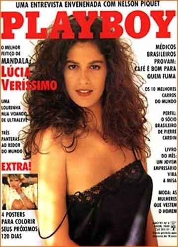 Abril de 1988 - Lúcia Veríssimo (capa pela 2ª vez)