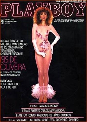Agosto de 1983 - Ísis de Oliveira