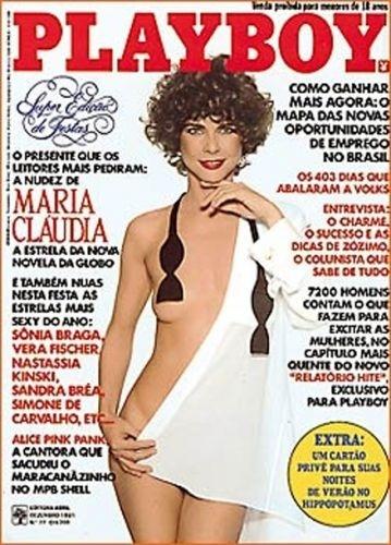 Dezembro de 1981 - Maria Cláudia