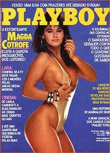 Dezembro de 1986 - Magda Cotrofe (capa pela 2º vez)