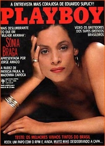 Julho de 1986 - Sônia Braga (capa pela 2º vez)