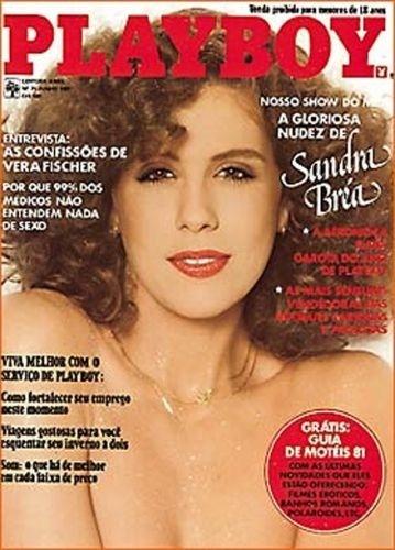 Junho de 1981 - Sandra Bréa