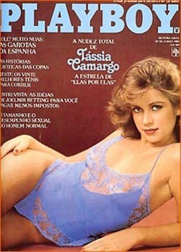 Junho de 1982 - Tássia Camargo