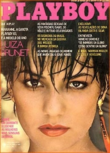 Maio de 1983 - Luiza Brunet