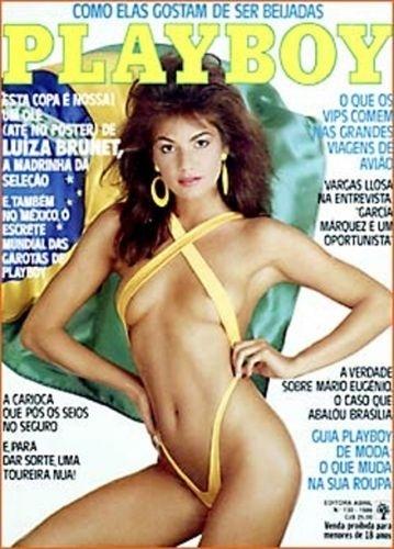 Maio de 1986 - Luiza Brunet (capa pela 3º vez)