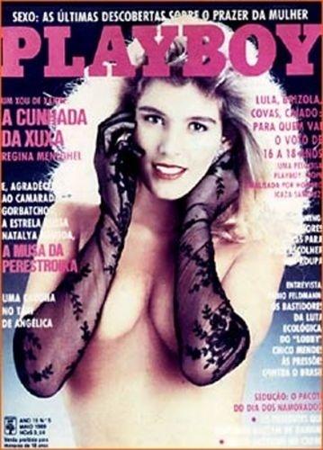 Maio de 1989 - Regina Meneghel