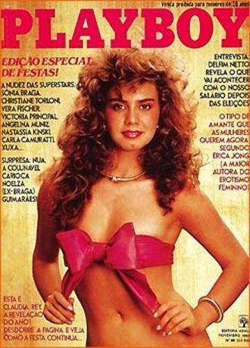 Novembro de 1982 - Cláudia Rey