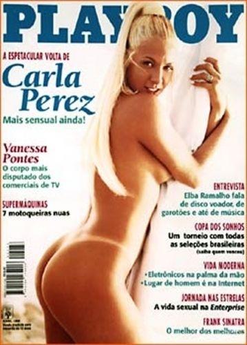 Abril de 1998 - Carla Perez (capa pela 2ª vez)