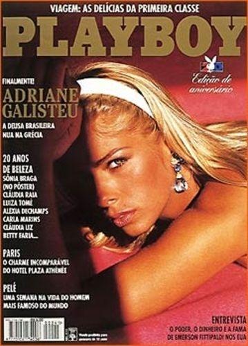 Agosto de 1995 - Adriane Galisteu