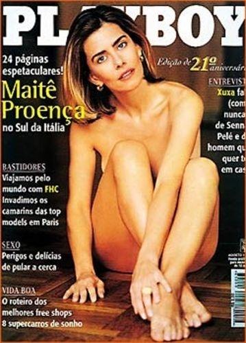 Agosto de 1996 - Maitê Proença (capa pela 2ª vez)