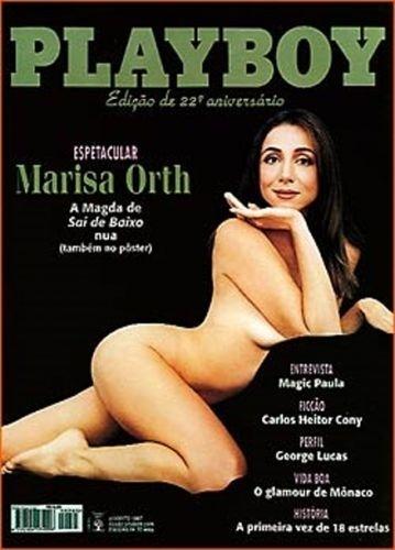 Agosto de 1997 - Marisa Orth
