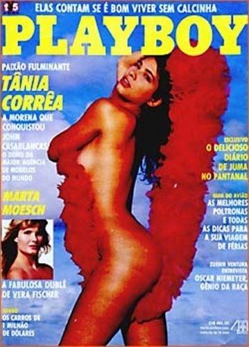 Dezembro de 1990 - Tânia Corrêa (capa pela 2ª vez)