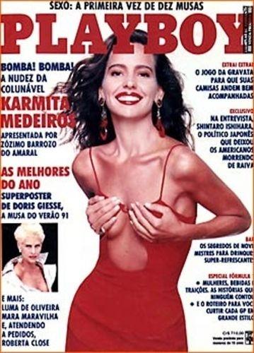 Fevereiro de 1991 - Karmita Medeiros (capa pela 2ª vez)