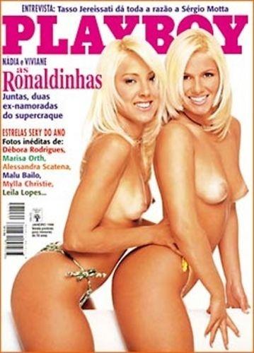 Janeiro de 1998 - As Ronaldinhas, Nádia e Viviane
