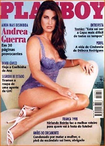 Maio de 1998 - Andrea Guerra (capa pela 2ª vez)