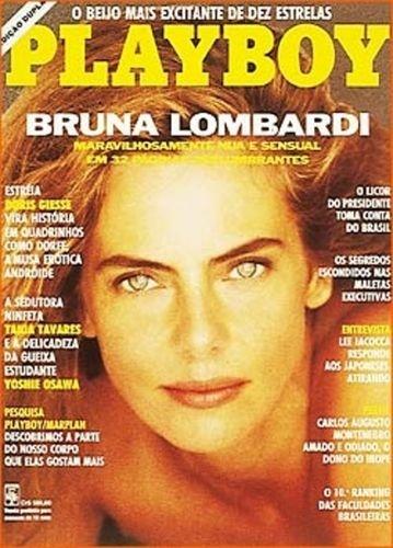 Março de 1991 - Bruna Lombardi
