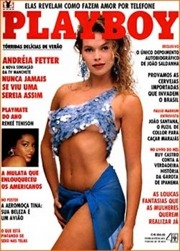 Outubro de 1990 - Andréia Fetter