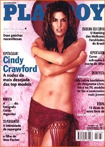Setembro de 1998 - Cindy Crawford