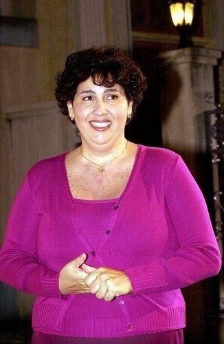 """Claudia Jimenez em cena da novela """"As Filhas da Mãe"""", exibida pela TV Globo em 2001"""