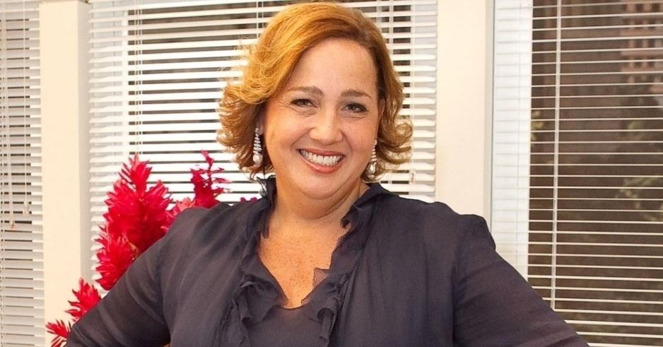 Claudia Maria Patitucci Jimenez nasceu em 18 de novembro de 1958. Em 2012, a atriz completa 54 anos com trabalhos marcados com a veia do humor na televisão brasileira (foto de 2010)