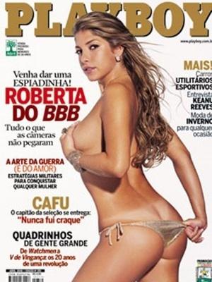 Abril de 2006 - Roberta do BBB