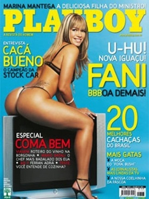 Abril de 2007 - Fani Pacheco do BBB