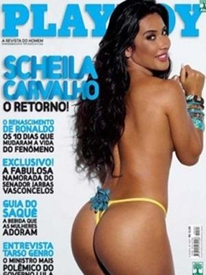 Abril de 2009 - Scheila Carvalho