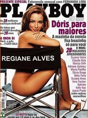 Agosto de 2003 - Regiane Alves