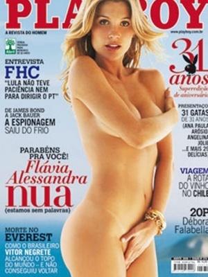 Agosto de 2006 - Flávia Alessandra