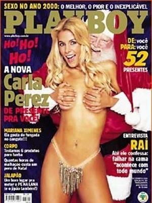 Dezembro de 2000 - Carla Perez