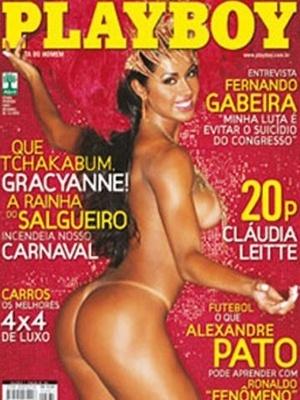 Fevereiro de 2007 - Gracyanne Barbosa