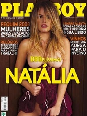 Julho de 2008 - Natália do BBB