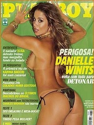 Outubro de 2003 - Danielle Winits
