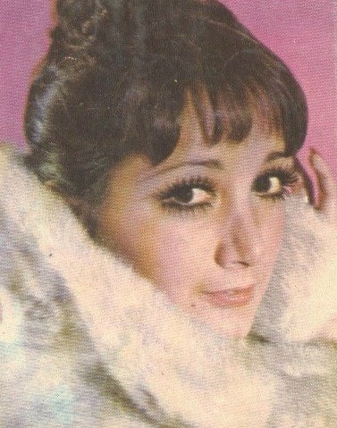 María Antonieta de las Nieves em uma foto retirada de revista da década de 70