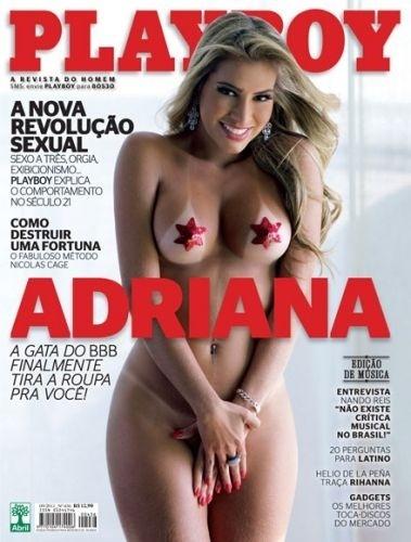 Setembro de 2011 - Adriana, do 'BBB'