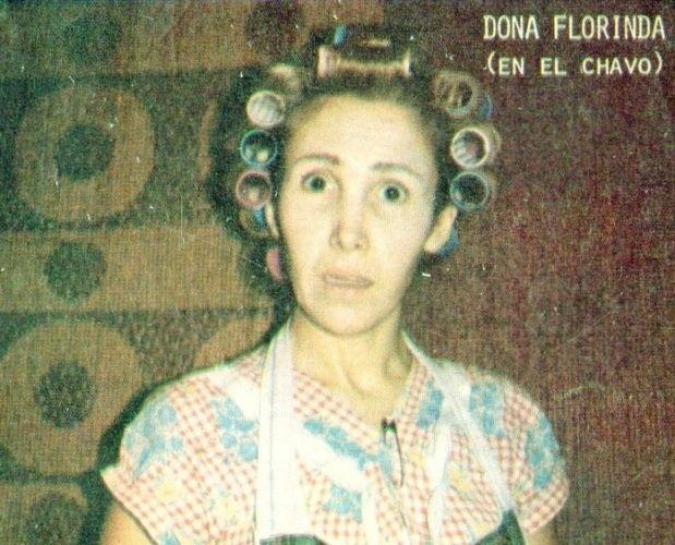 Também chama a atenção dos fãs do seriado uma série de fotos dos atores e das produções de 'Chaves' e 'Chapolin' que estão pipocando na web. Nesta imagem, por exemplo, uma foto antiga mostra a atriz Florinda Meza caracterizada como Dona Florinda