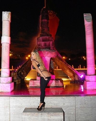 28.nov.2012 - A modelo Jéssica Lopes, finalista do concurso