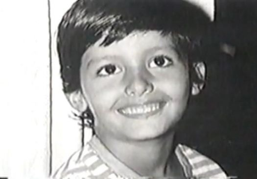 """Luís Roberto Gambine Moreira, a modelo transexual Roberta Close, nasceu no dia 7 de dezembro de 1964. Acima, foto de infância de Roberta, ainda como """"menino"""", exibida em reportagem no """"Fantástico"""" de 1998"""