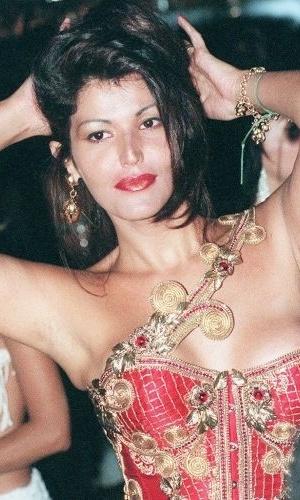 Roberta Close no Carnaval de 1997 no Rio de Janeiro