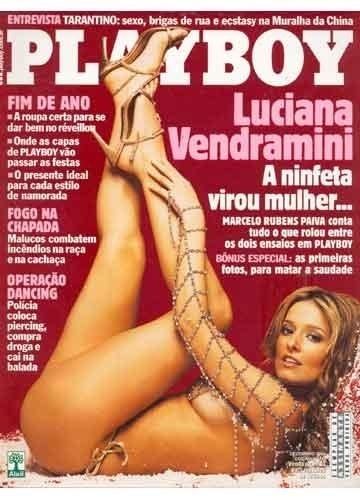 """Em 2003, Luciana Vendramini posou para a """"Playboy"""" pela segunda vez. A primeira foi em 1987, quando tinha apenas 16 anos."""