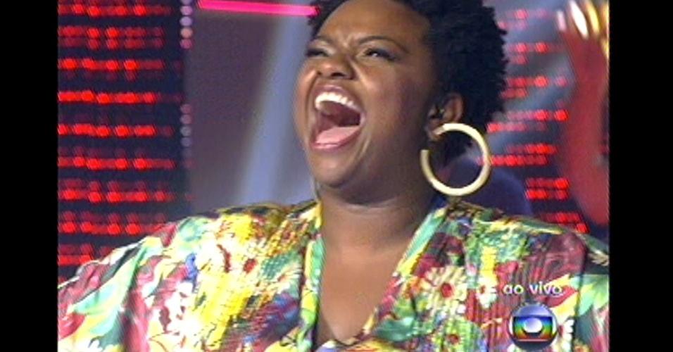 """16.dez.2012 - Ellen Oléria encerra os shows das finais de """"The Voice Brasil"""""""