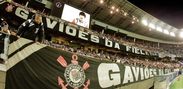 Torcida do Corinthians ocupou boa parte do estádio de Yokohama na final do Mundial