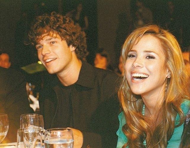 """25.mai.2003 - Erik Marmo e Wanessa namoraram em 2003. A cantora inclusive convidou o rapaz para estrelar o clipe de sua música """"Sem Querer"""", música de maior sucesso de seu terceiro disco, que também recebeu o nome da cantora"""