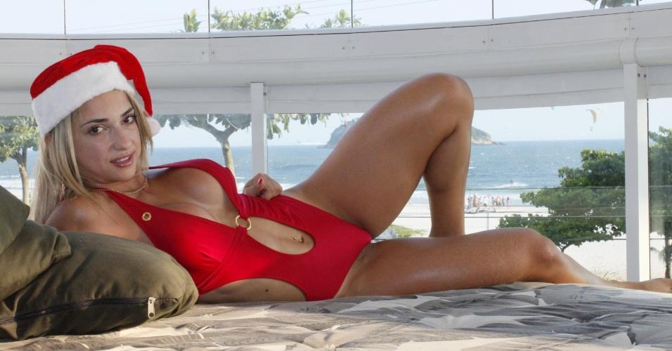 26.dez.2012 - Priscila Freitas já participou do programa 'Pânico'