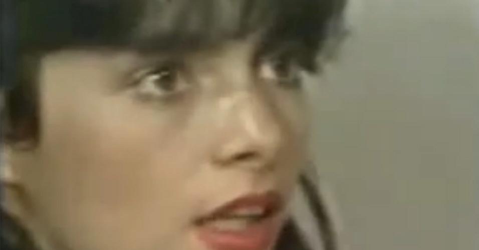 """Sua estreia na televisão só aconteceu em 1984, quando ela trabalhou em """"Amor com Amor se paga"""" (1984)"""