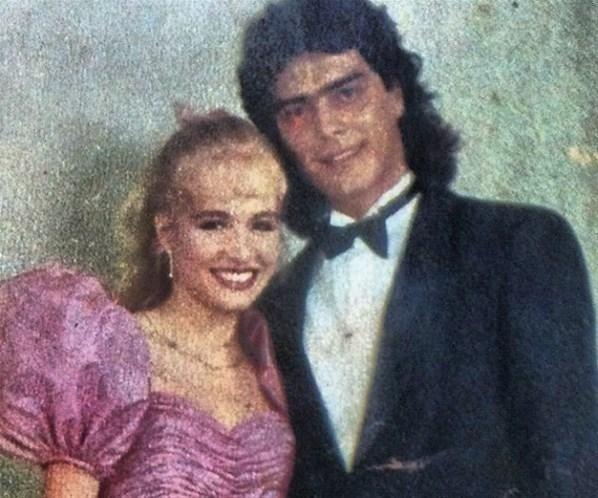 7.fev.2013 - Junno Andrade, atualmente namorado de Xuxa, foi príncipe de Angélica na festa de debutante da loira, em 1988
