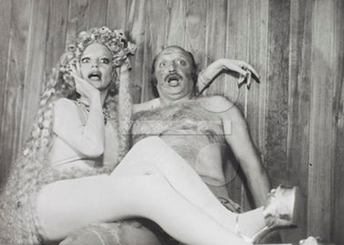 """1974 - Elke Maravilha em cena do filme """"Gente que transa"""", de Silvio de Abreu"""