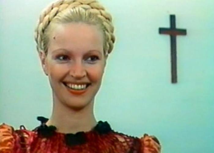 """1976 - Elke Maravilha em cena de """"Xica da Silva"""", filme de cacá Diegues. Pos sua atuação no longa, a atriz foi premiada com a Coruja de Ouro como melhor atriz coadjuvante"""