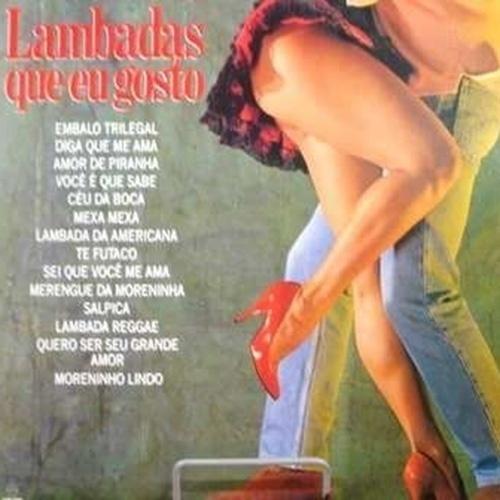 A lambada ainda hoje é lembrada como um ritmo tropical, que valoriza a sensualidade da mulher.  Na imagem, reprodução de um CD com coletâneas de hits do início dos anos 90, período em que o ritmo musical invadiu as rádios do país